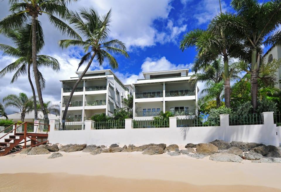 Condominium Complex from Beach