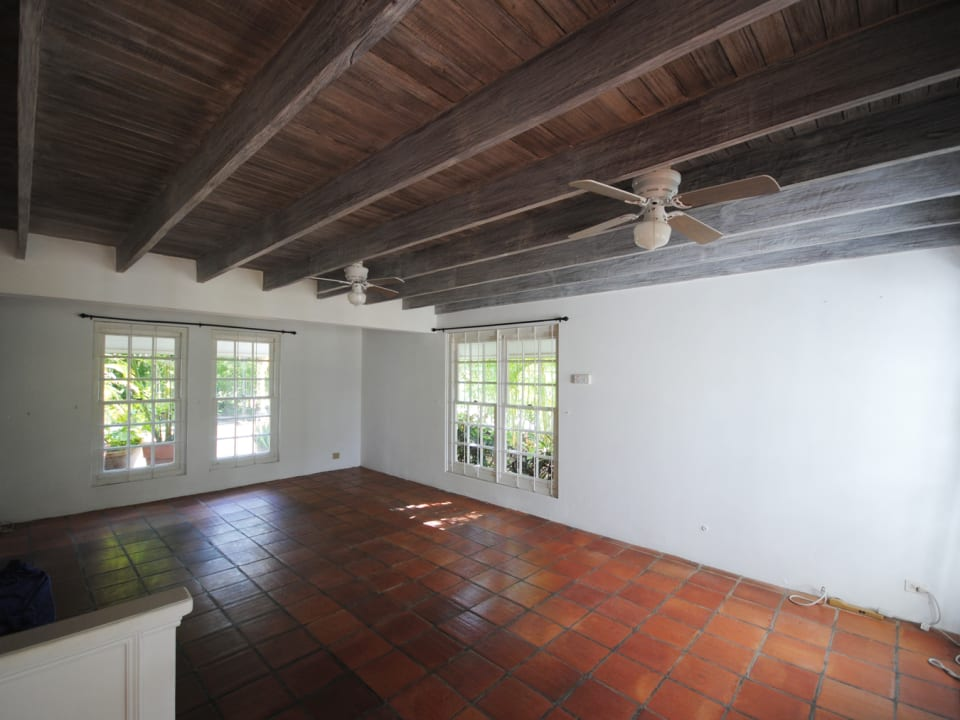 Large open plan sitting and or dining room