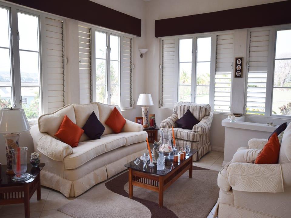 Living room on east side