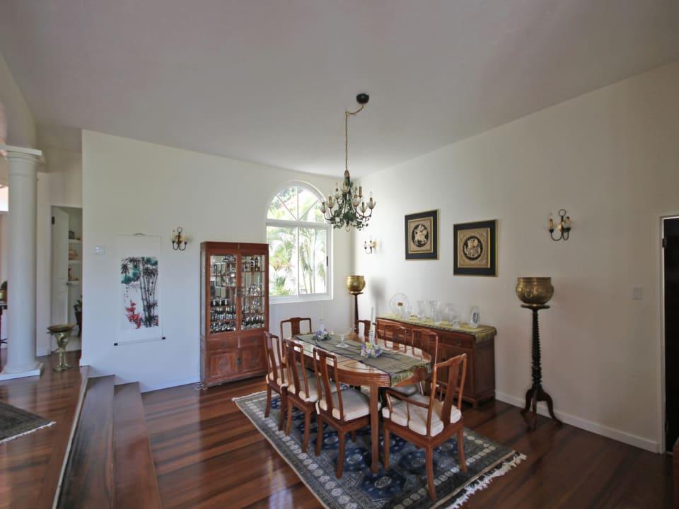 Sunken Dining Room
