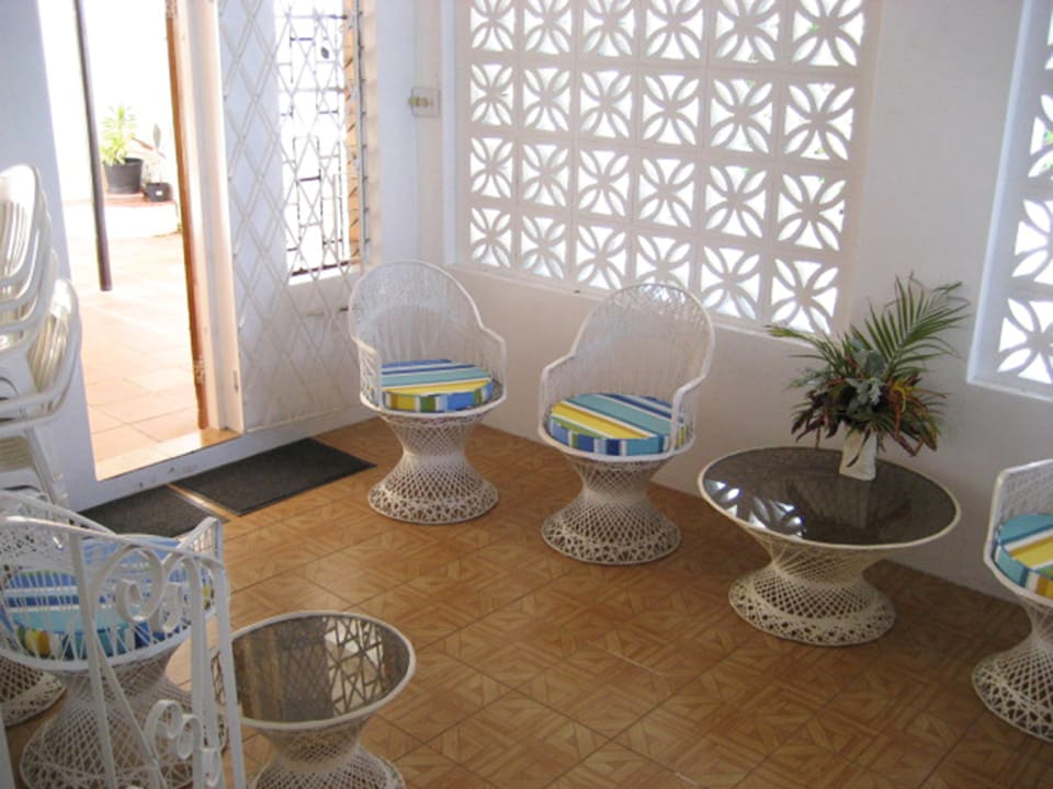 Enclosed patio