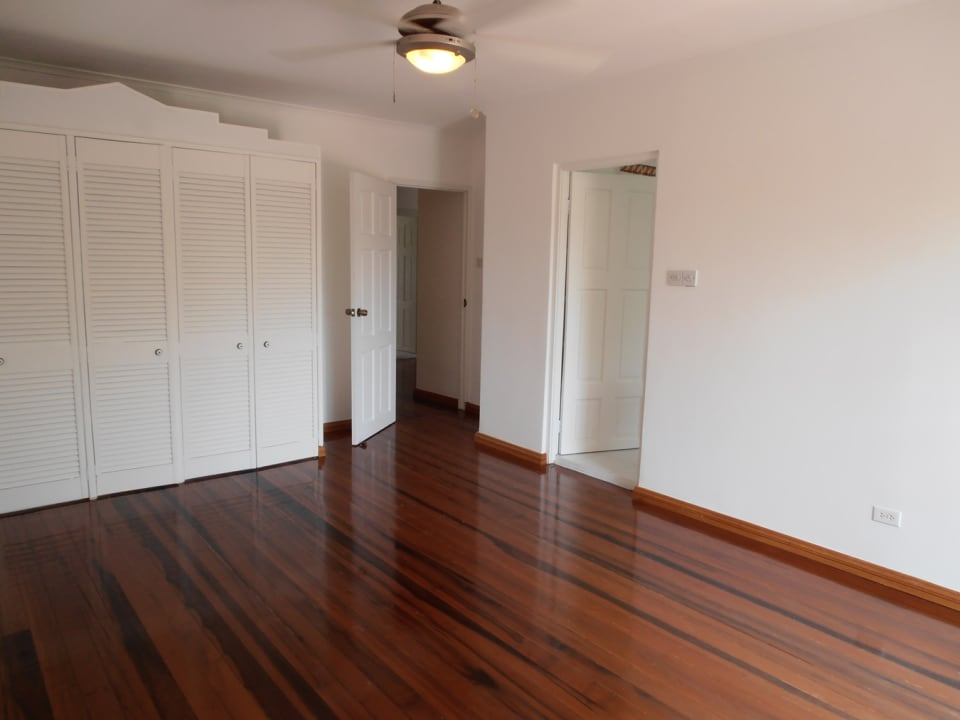 Bedroom with Handsome Hardwood Floors