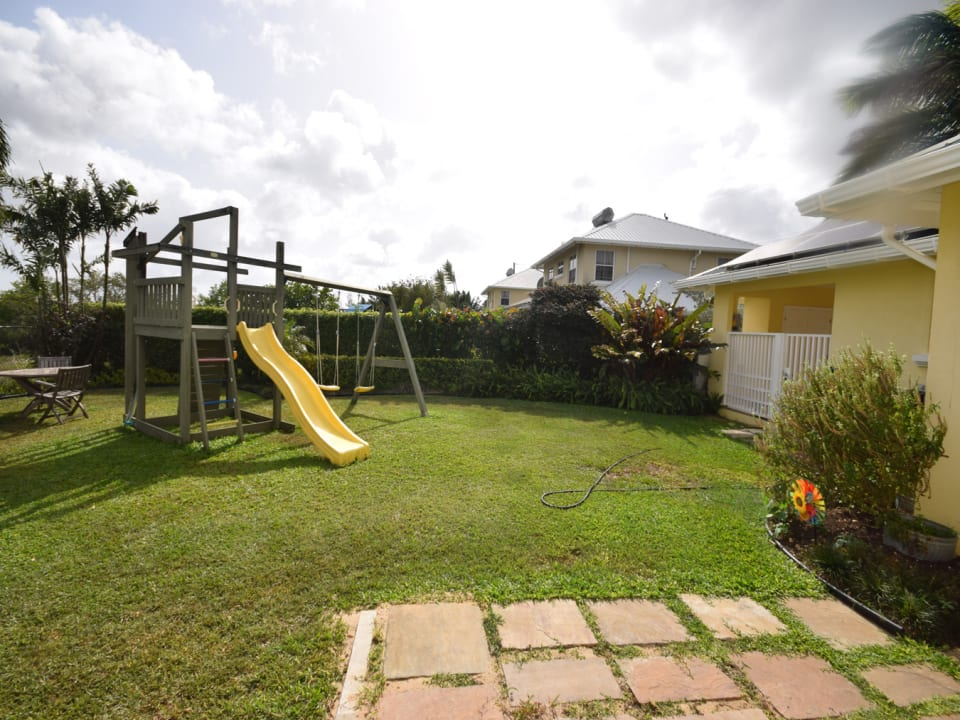 Great garden for kids to play