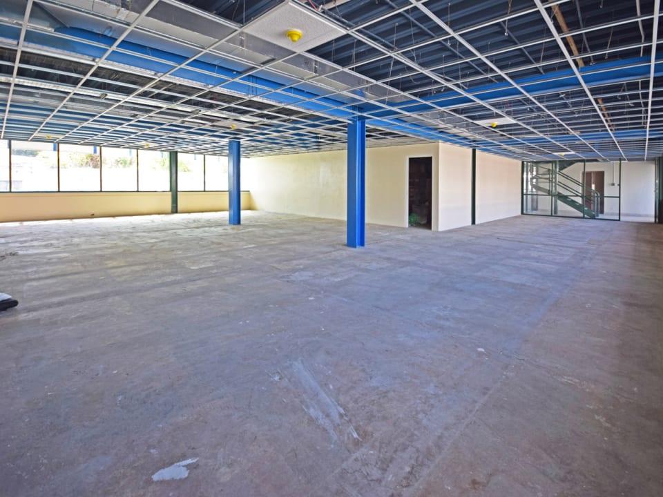 Ground floor office space