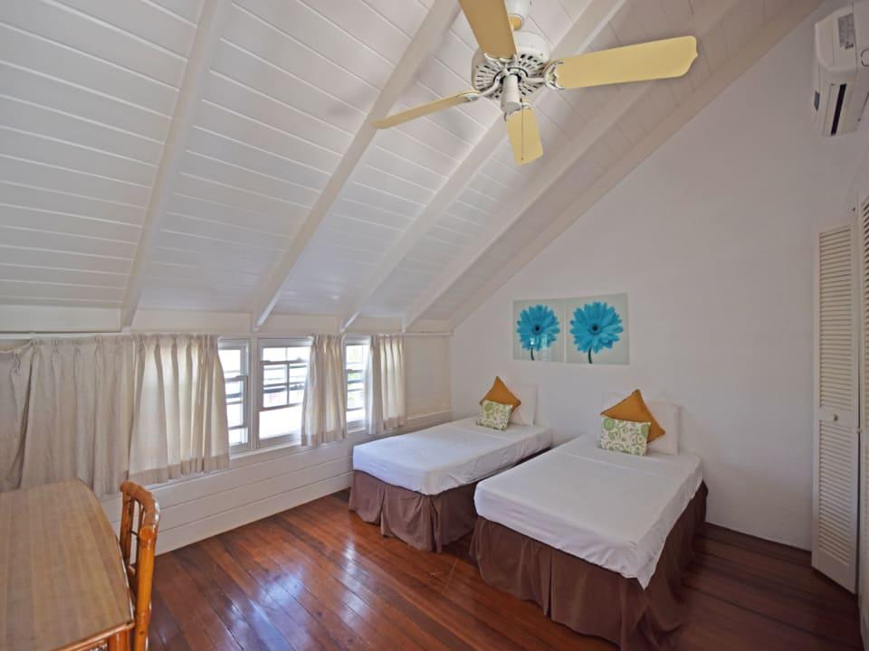 Bedroom on the top floor