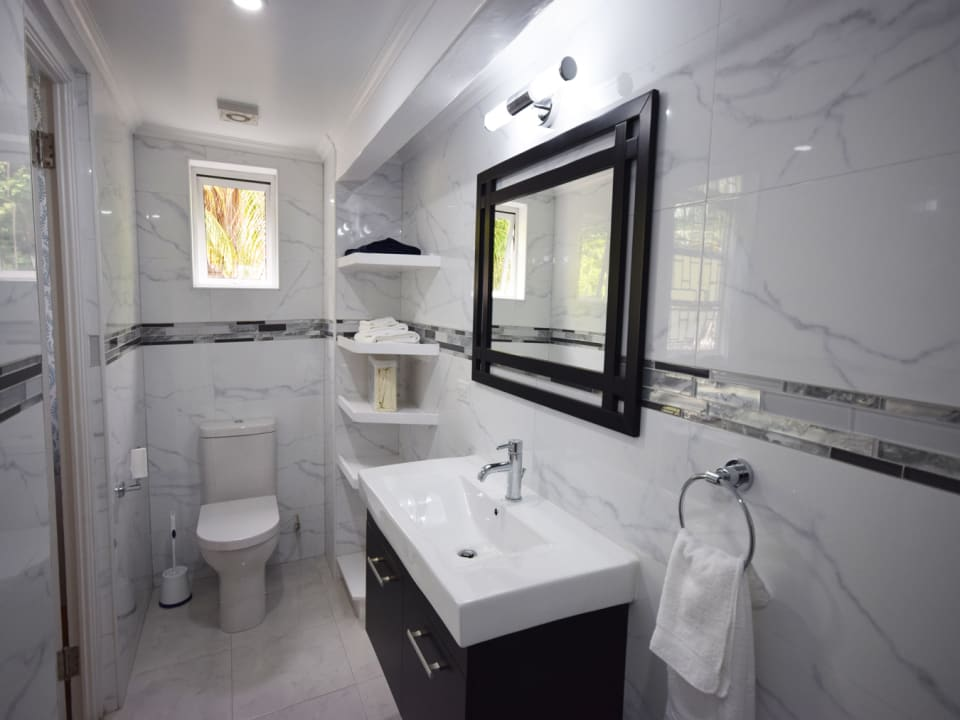 Tastefully Finished Bathroom