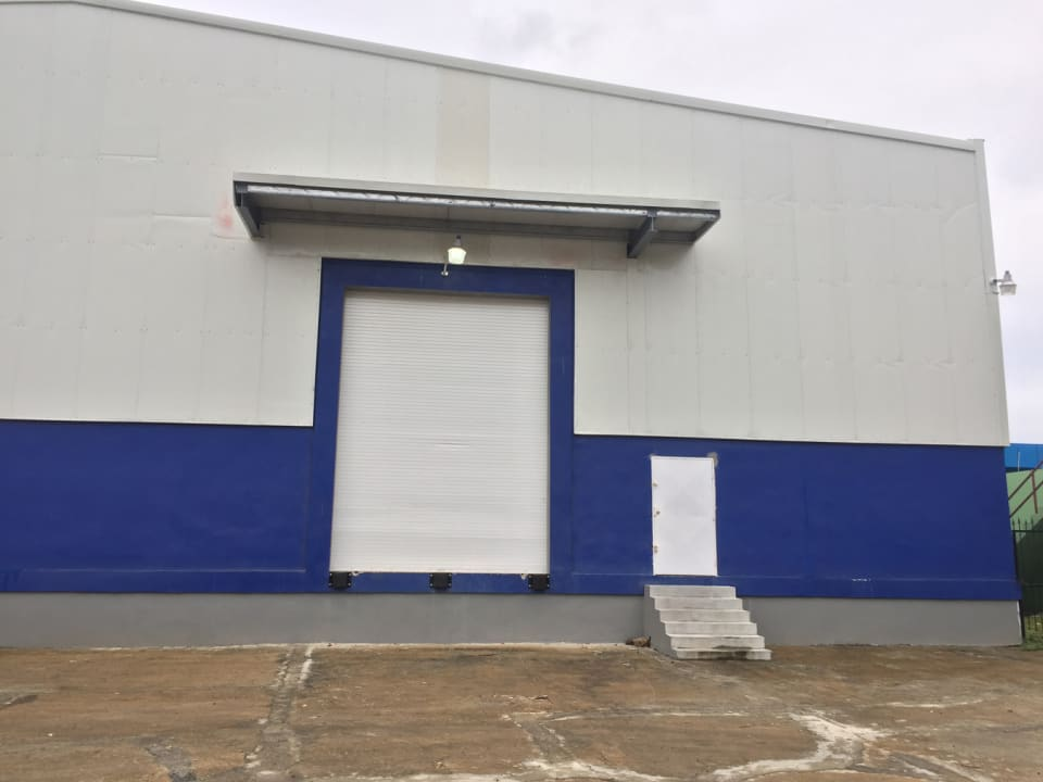 Container Loading Bay and Side Door