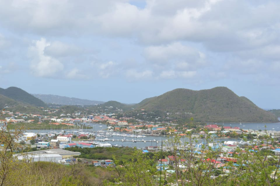 Magnificent view of Rodney Bay and Marina