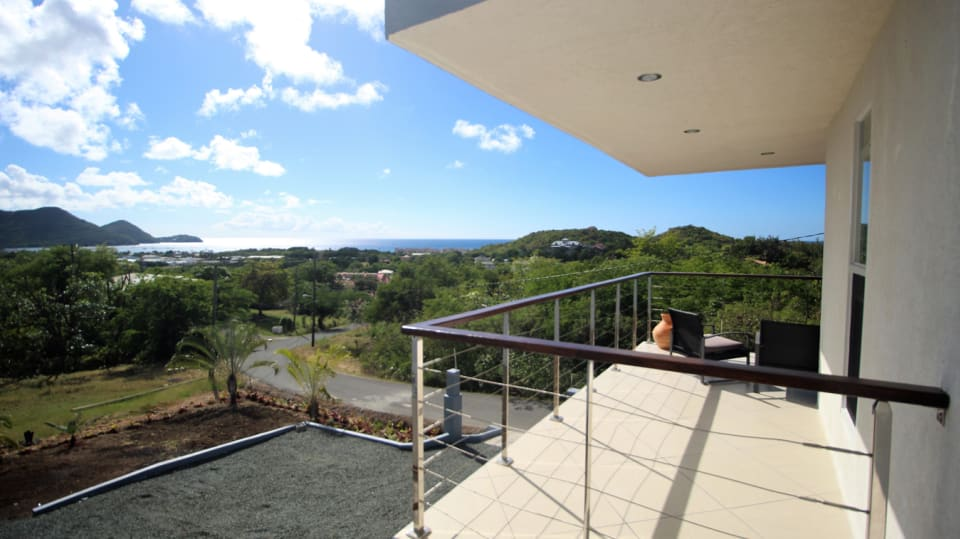 Downstairs Patio - View of Pigeon Island