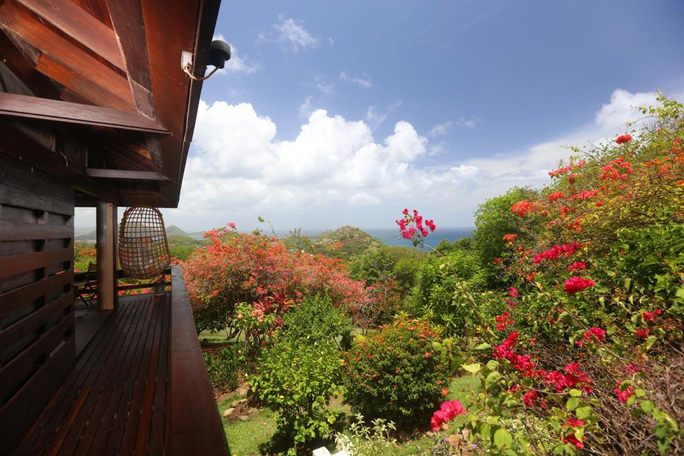 Veranda overlooking Garden