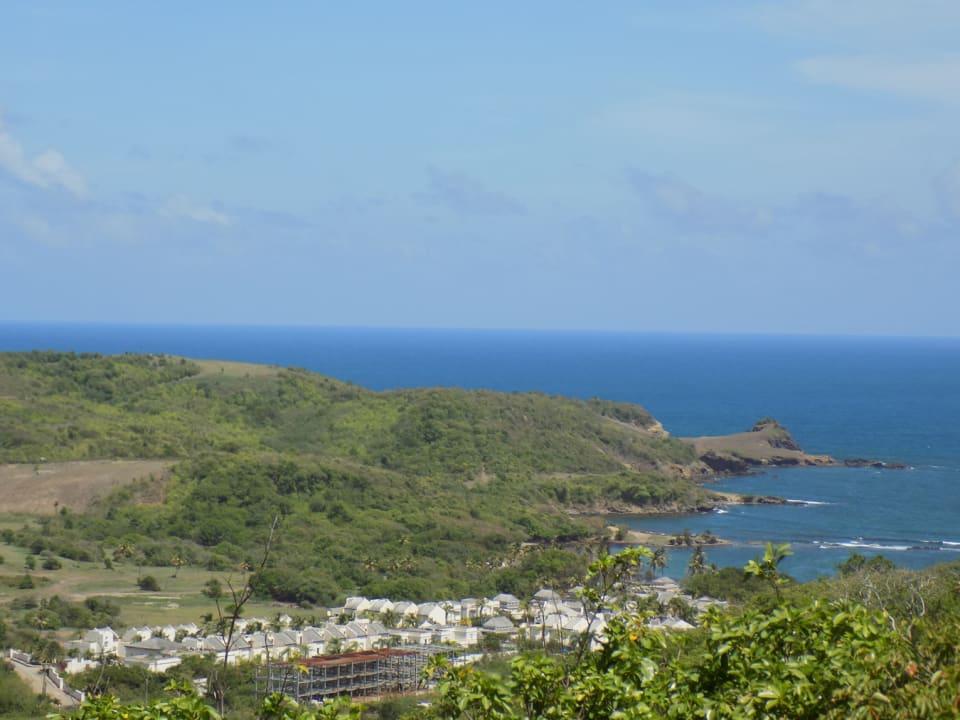 Overlooking Cotton Bay Resort