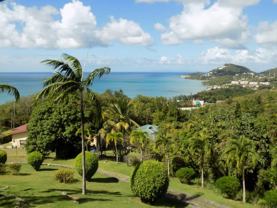Caribbean Sea view from the balcony