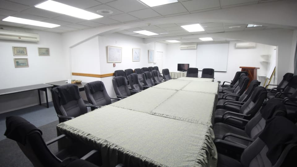 Conference Room seats up to forty-five (45)