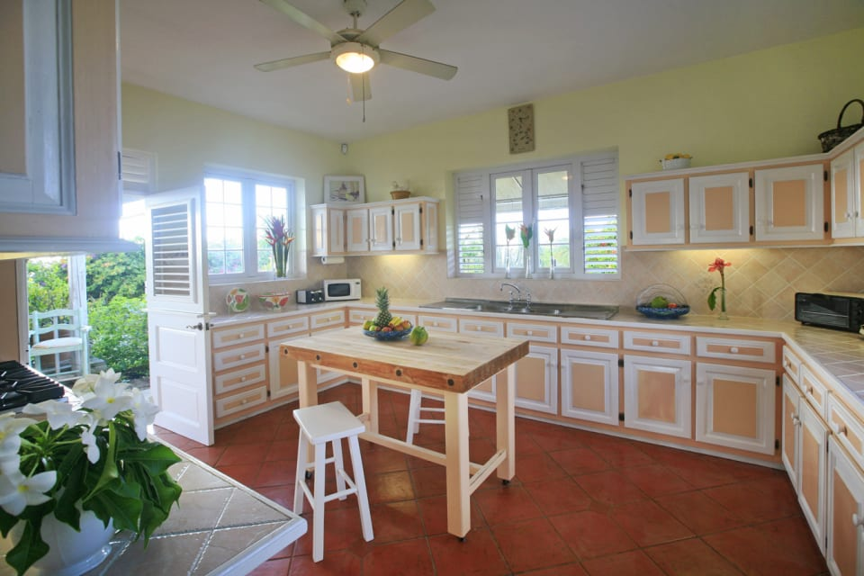 Functional Caribbean Styled Kitchen