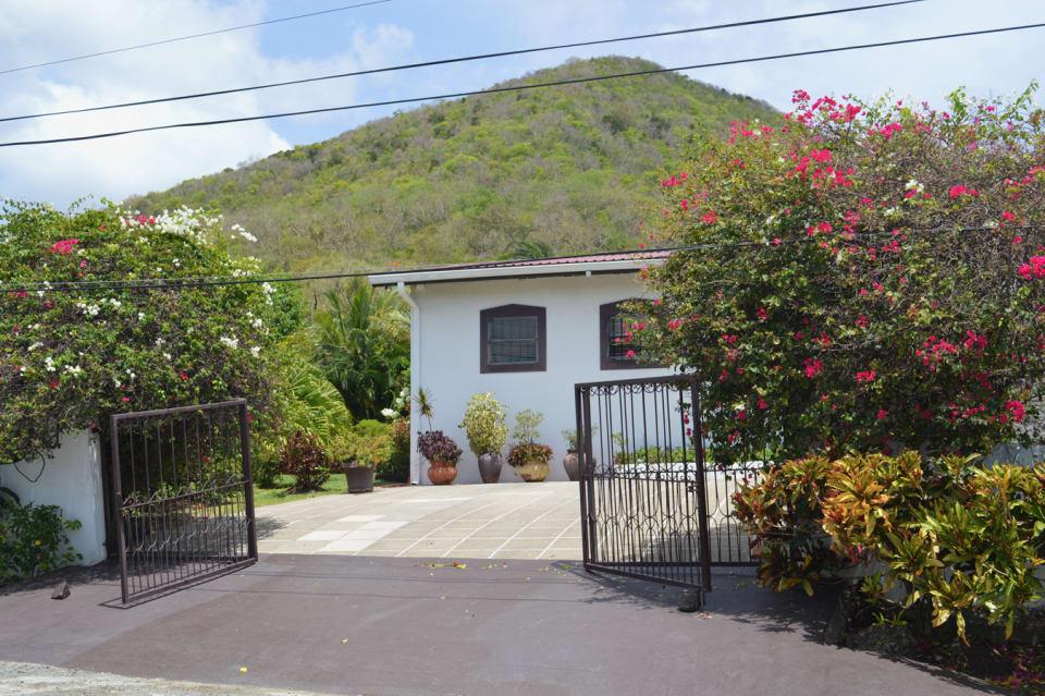 Entrance to Rodney Bay Villa