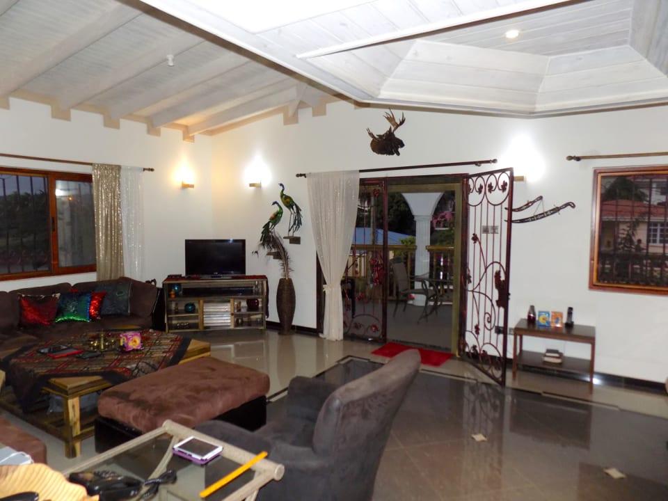 Living Area onto Patio