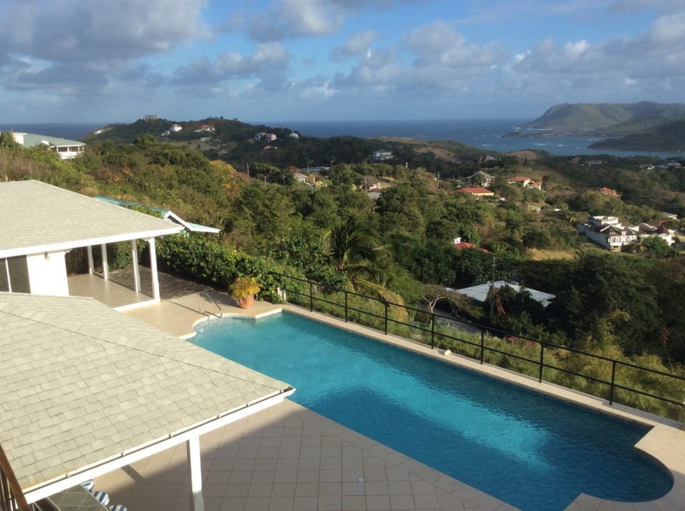 Lap Pool and Wide Ranging Views