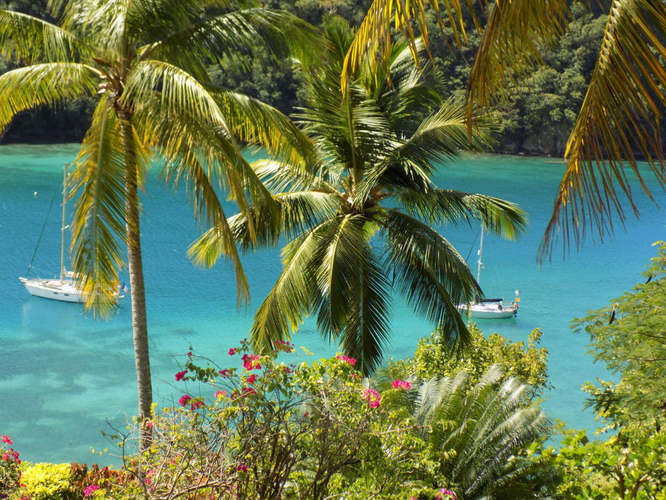Turquoise Waters of Marigot Bay