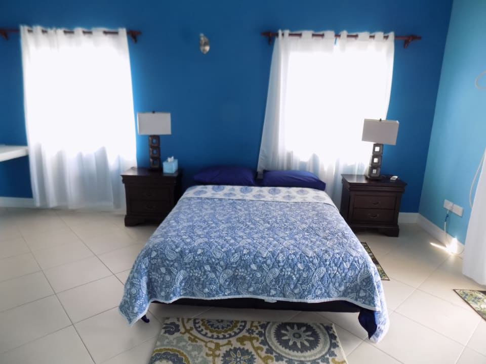The blue room- Bedroom