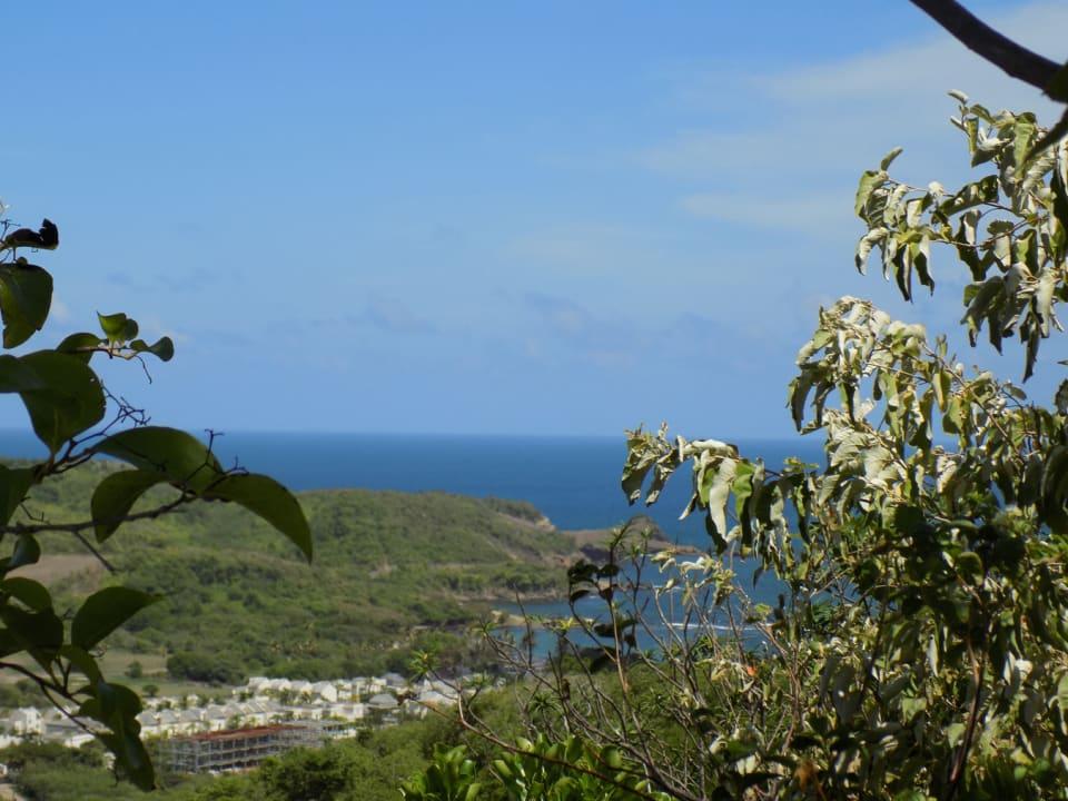 Views towards Cas-en-Bas Bay