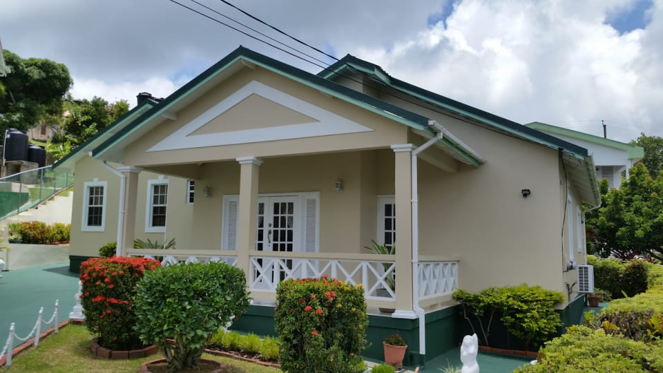 Front of House with Garden