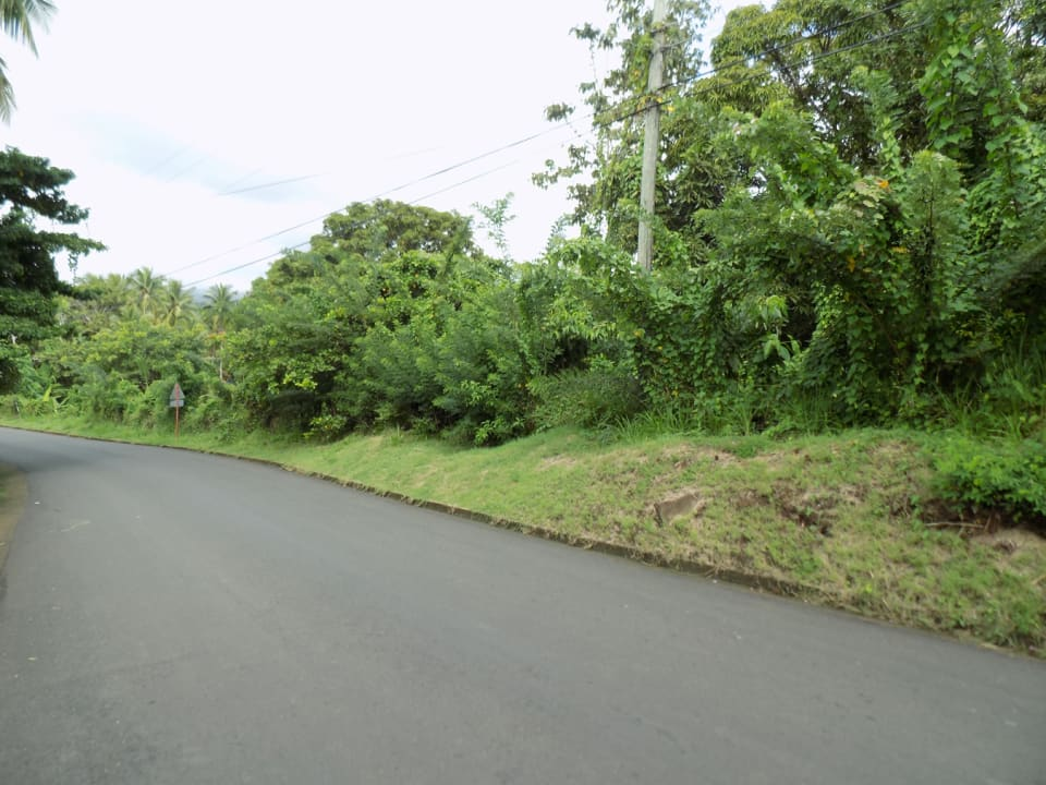 Main Road Facing Land