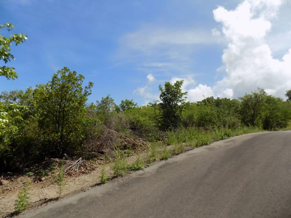 Paved Asphalt Access Roads