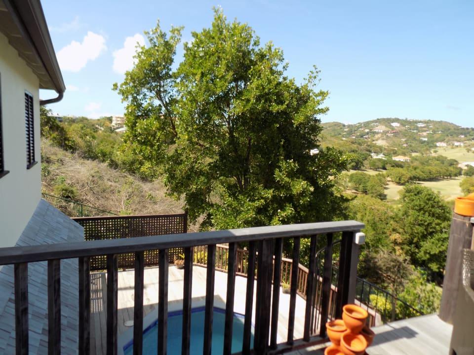 Overlooking Pool Deck