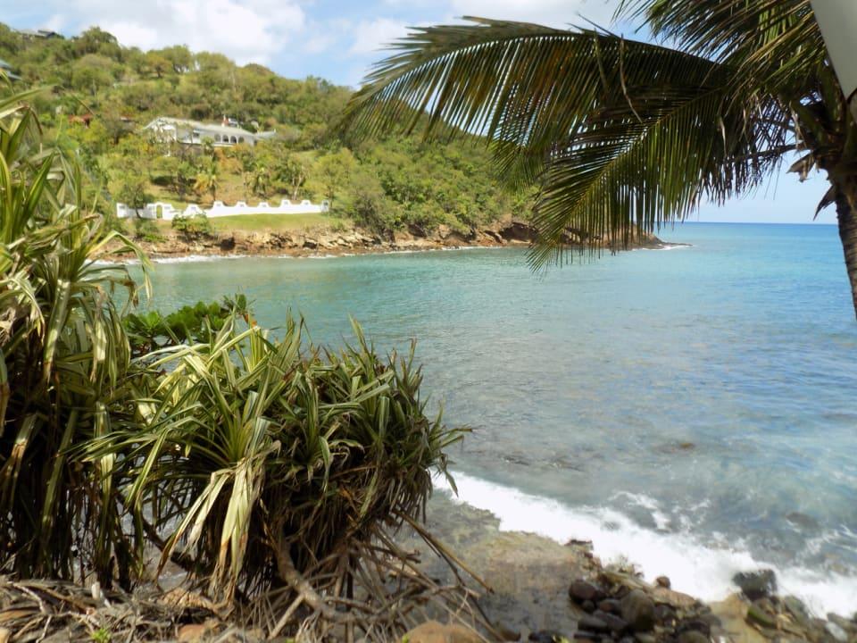 Trouya Bay on a clear day