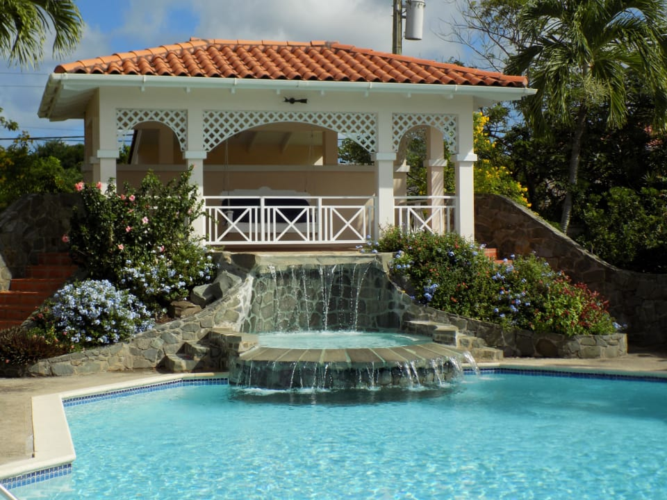 Pool Area with Gazebo