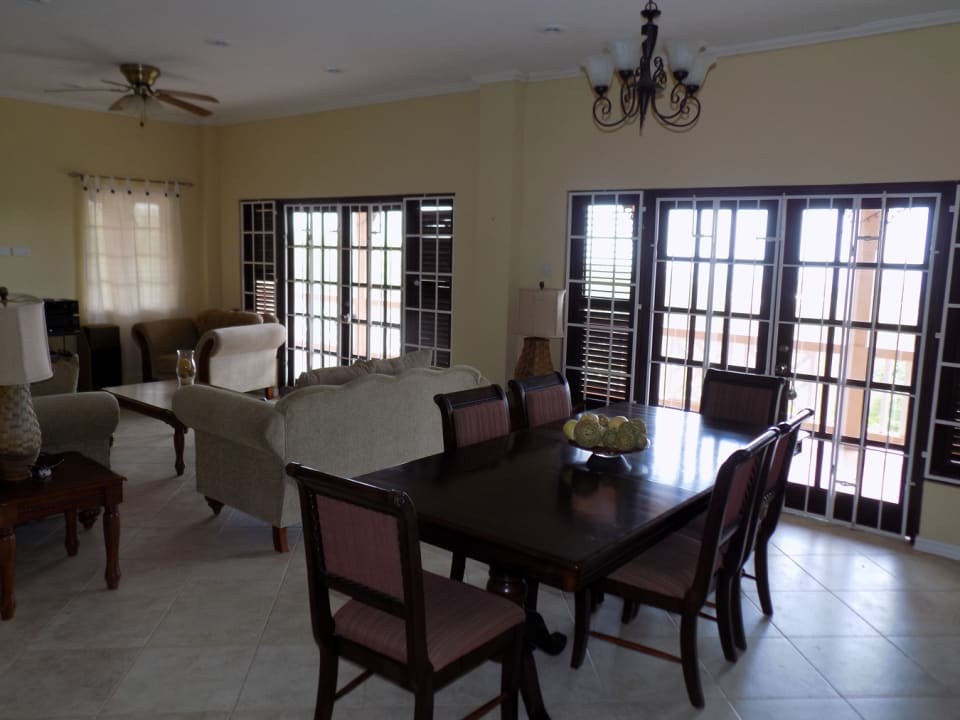 Open Concept Living & Dining Room