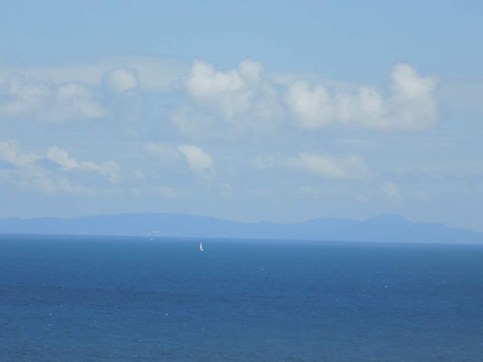 View of Martinique to the North