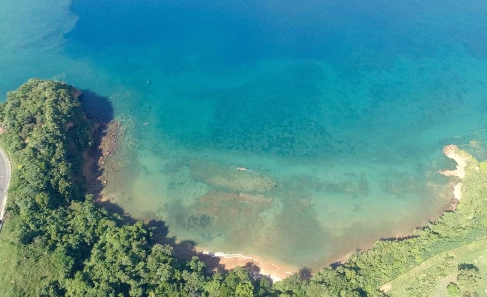 Anse Ferrie Bay Looking West
