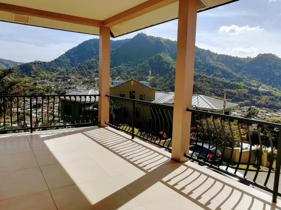 Front Balcony with View