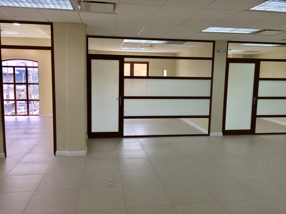 entrance of the front office