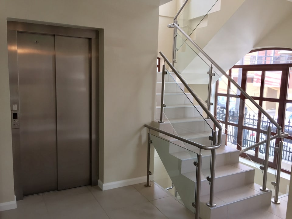 elevator and staircase