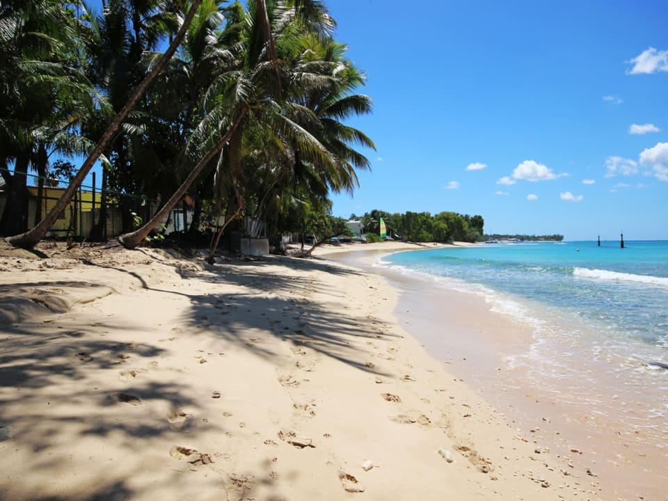 Quiet Beach Area