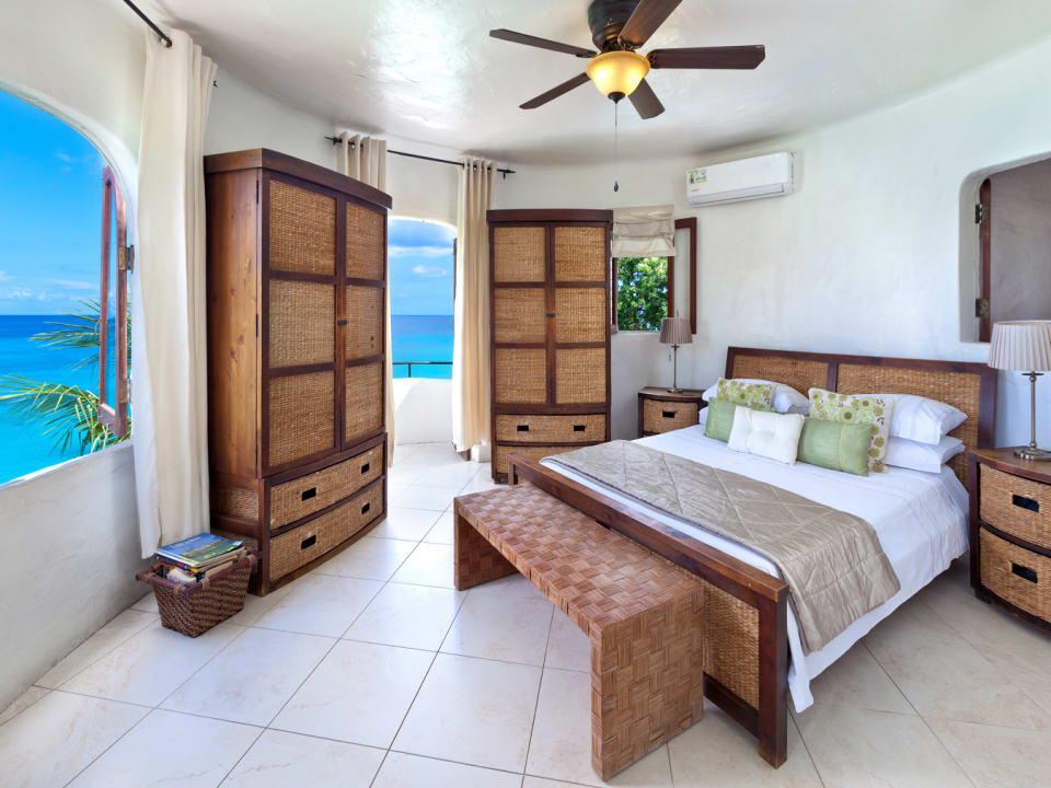 Master bedroom in Apartment 3