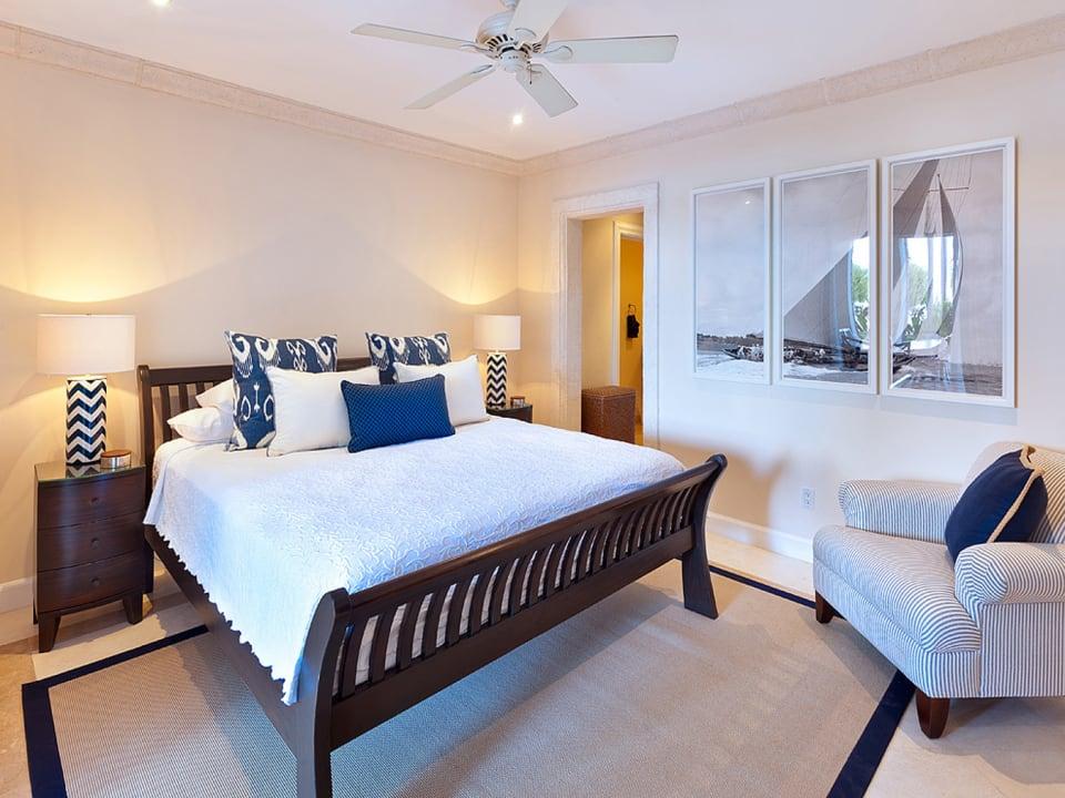 Bedroom 3 opens to terrace