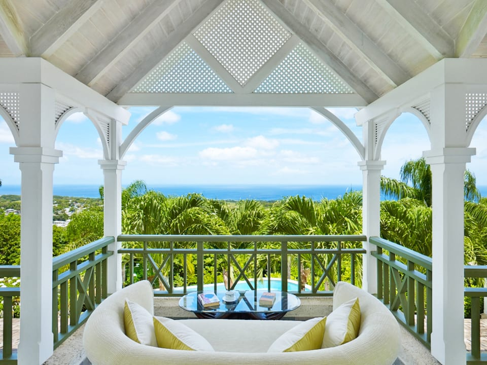 Stunning sea views from master bedroom