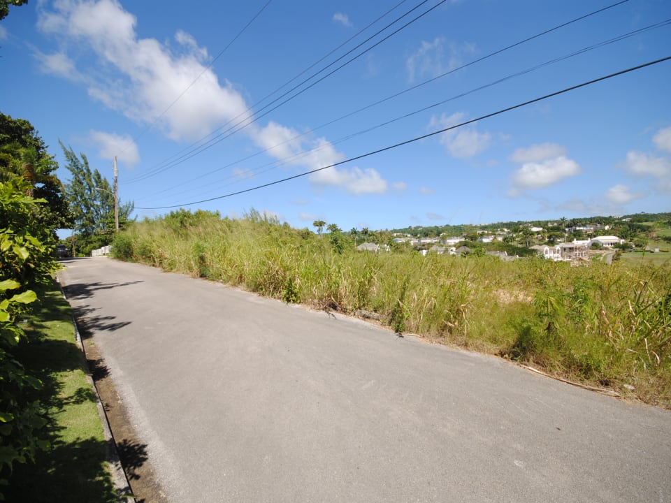 Lot 16 from access road