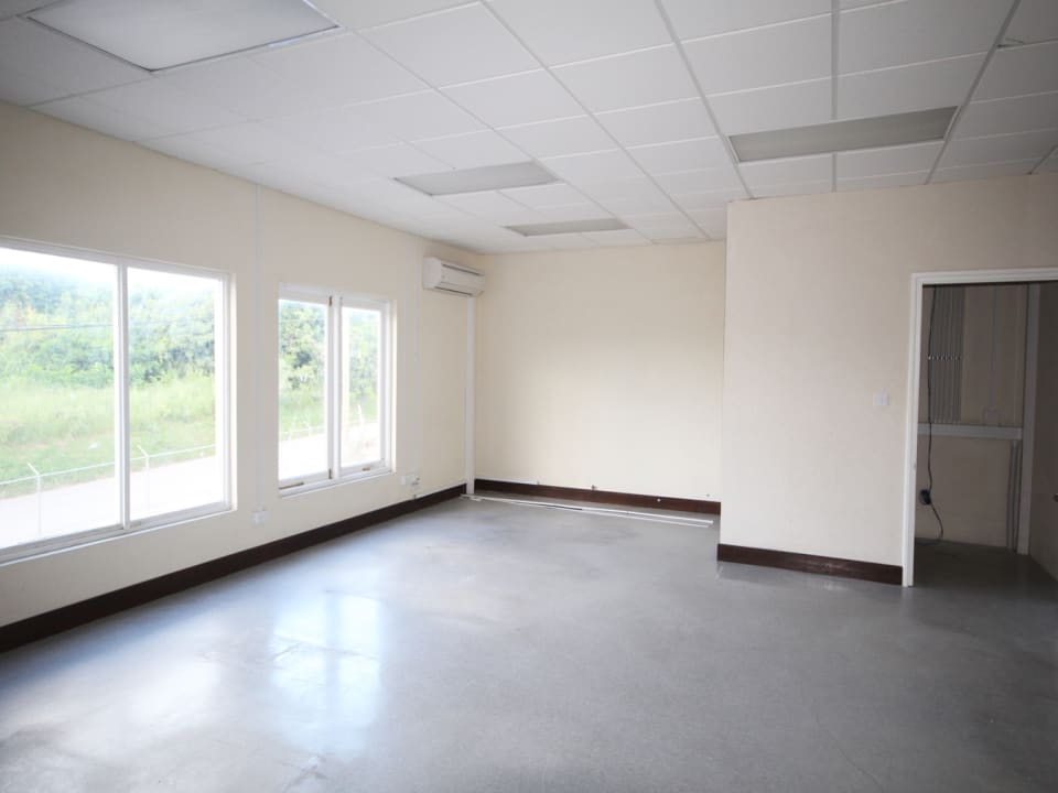 Office space upstairs