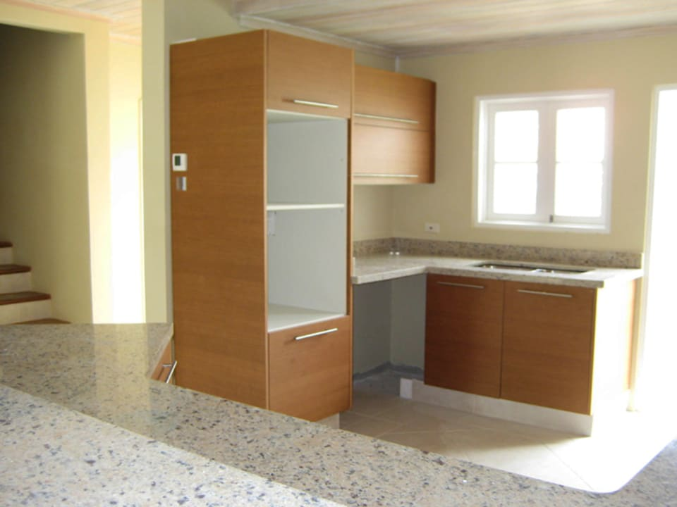 Modern kitchen - show unit