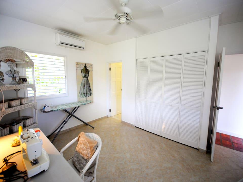 Sewing room or bedroom 2 with en suite bathroom