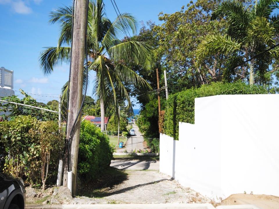 Shortcut to beach by Fairmont Royal Pavilion