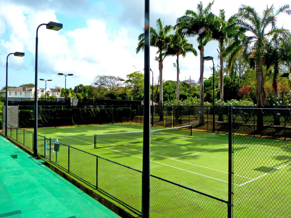 1 of 4 tennis courts at Sugar Hill