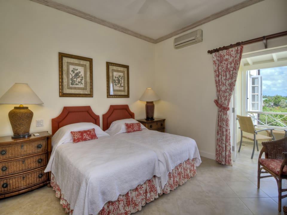 Second bedroom upstairs