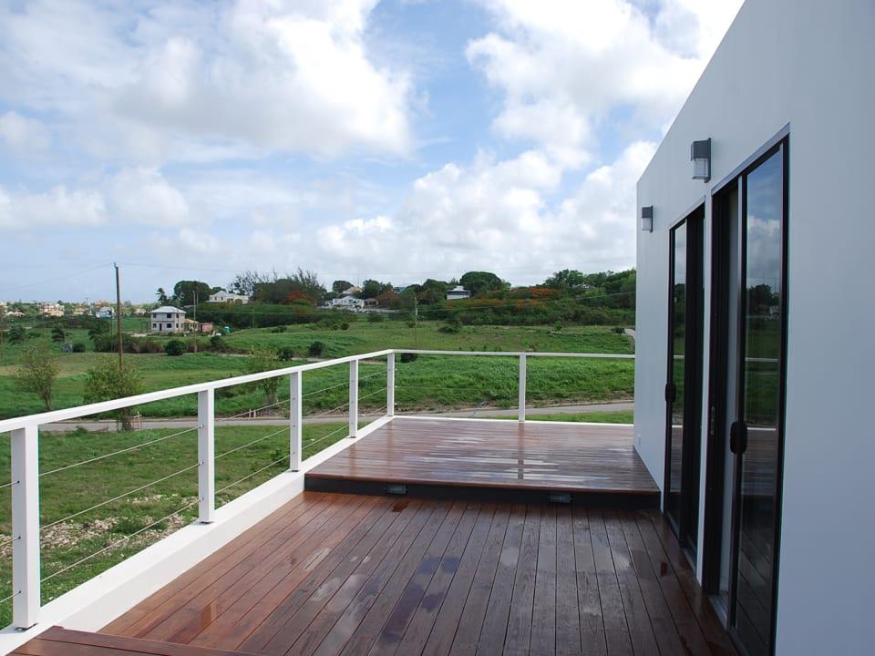 Upper patio