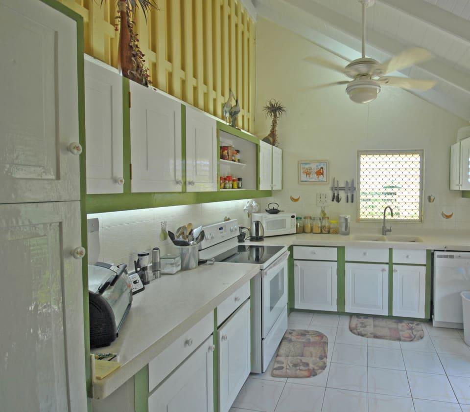 Kitchen at Westerlee cottage