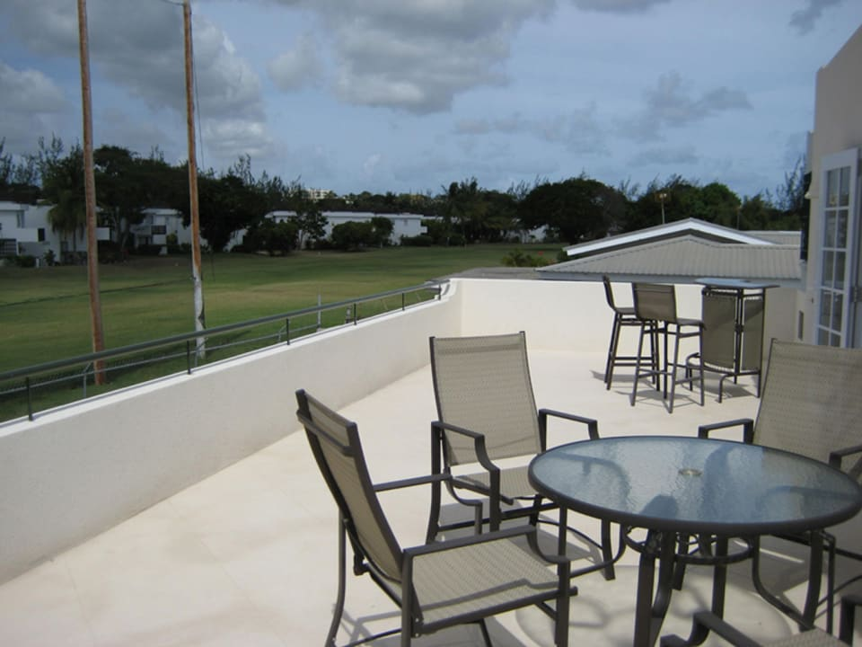 Terrace with Golf Course View